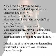 How A Man Should Love A Woman Quotes