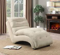 microfiber chaise lounge.  Chaise Tan Padded Microfiber Chaise Lounge 550347 To U