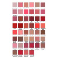 Lipfinity Colour Chart Max Factor Lipstick Color Chart Lipfinity Lipstick