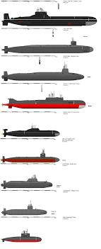 Us Submarine Classes Chart Modern Submarine Chart Warship Navy Military Submarines