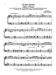 For the first time, this piano sheet music collection encompasses the entire star wars saga! Star Wars Main Theme Easy Piano Sheet Music Piano Sheet Music Star Wars Sheet Music