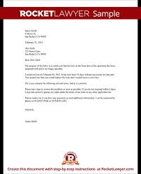 Best Photos Of Letters From Landlords To Tenants Sample