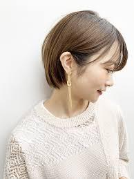 Unami 小顔ショートボブ 10代30代に人気 Un Ami 表参道 新宿