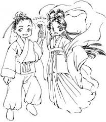 7月のイラスト無料フリー素材 七夕 織姫と彦星 うみわたるのイラスト集