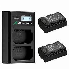 <b>Зарядное устройство Powerextra</b> + 2 аккумулятора <b>NP</b>-<b>FZ100</b>