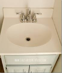 how to paint a sink diy tutorial