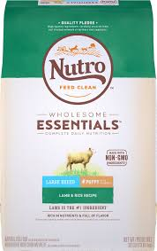 Nutro Wholesome Essentials Large Breed Puppy Lamb Rice Recipe Dry Dog Food 30 Lb Bag