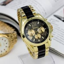 men geneva brand full steel quartz watch women luxury casual dress fashion men geneva brand full steel quartz watch women luxury casual dress wristwatches ladies gold dial clock