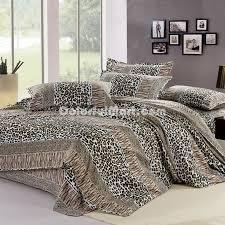 fashion beats cheetah print bedding sets larger image