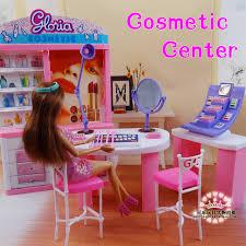 Pink Dream makeup Center dressing room for barbie doll 1 6 doll