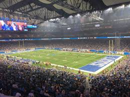 Ford Field Lions Seating Chart Ford Field Interactive Football Seating Chart