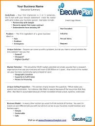 Business Proposal Templates Examples Plan Sample Template Executive ...