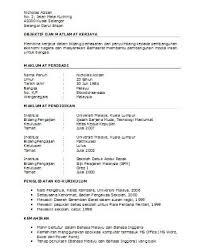 resume bahasa melayu converza co