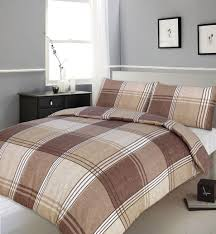 Simple Kids Bedroom with Single Bed Pirates Kids Full Cotton Duvet ... & Minimalist Bedroom with Brown Beige Color Reversible Check Print Duvet Cover,  Espresso Wooden Dresser, Adamdwight.com
