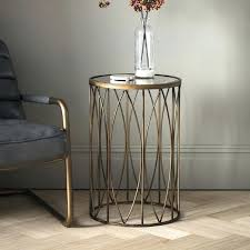 small gold side table coffee table small oval coffee table gold geometric coffee table round glass