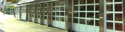 Glass Garage Doors for Redhook Restaurants Arm R Lite Door