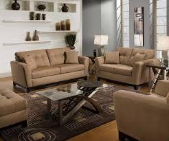 simmons living room furniture. luna upholstery simmons 3026 sofa loveseat chair ottoman microfiber living room set shitake simmons living room furniture