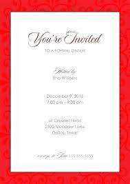 corporate event invitation template formal party invitation template formal party invitation