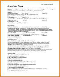 100 Resume Objective Accounting Internship Professional