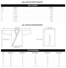 Jiu Jitsu Kimono Size Chart Hayabusa New Gold Weave Youth Brazilian Jiu Jitsu Gi Bjj Gi
