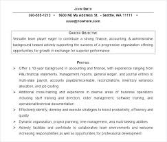 Accounting Resumes Enchanting Example Accounting Resumes Accountants Resume Sample Staff