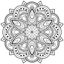 Small Picture Flower mandala coloring pages best 25 mandala coloring pages ideas