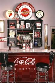 Bar Accessories And Decor Bar Accessories And Decor Decorating With Coca Cola Signs 43