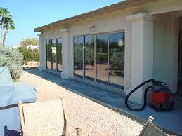 patio enclosure using sliding glass doors fountain hills az