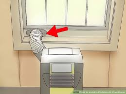 image titled install a portable air conditioner step 3