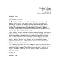 Construction Project Management Cover Letter Sample Rimouskois