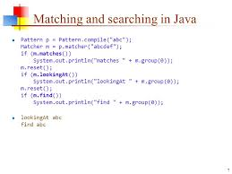 """Java Pattern Compile Simple 48Sep48 Regular Expressions About """"Regular"""" Expressions In A"""