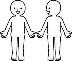 人体のシンプルな図 イラスト素材 5529528 フォトライブラリー