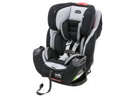 evenflo symphony with surelatch car seat