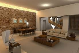 open living room design living plan dining area wall