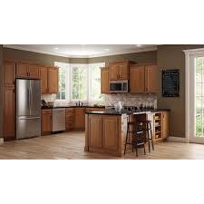 Hampton Bay Hampton Assembled 9x345x24 In Base Kitchen Cabinet In
