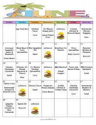 weekly meal plans on a budget a month of meals on a budget june 2015 no repeat meal plan 30