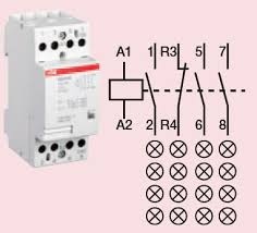 downloads rf and emf products by safe living technologies Photo Switch Wiring Schematics For Lighting Contactors contactor 4 circuit, 120vac, 40 amp wiring diagram Square D Lighting Contactor