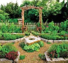 Small Picture vegetables herbs garden ideas wooden garden fence wooden pergola