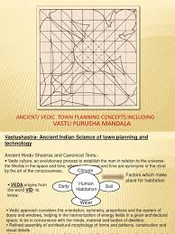 vedic town planning concepts vedas