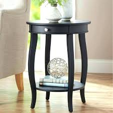 side tables living room better homes and gardens round accent table with drawer multiple colors for