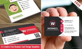 15 Creative And Simple Business Card Design Templates Free