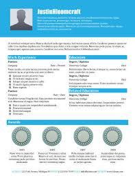 Winning Resume Templates 49 Creative Resume Templates Unique Non  Traditional Designs Free