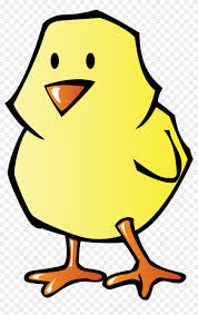 Big Image Easter Chick Coloring Pages Free Transparent Png