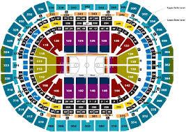 Bradley Center Detailed Seating Chart 69 Experienced Pepsi Center Denver Colorado Seating Chart