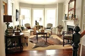small cowhide rug cowhide rug living room brown cowhide rug for comfy living room design for