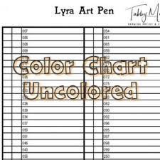 Ranger Tim Holtz Distress Crayons Color Chart 64 Colors