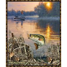Realtree - Bass Fishing Panel - Realtree Licensed Products - Print ... & Realtree - Bass Fishing Panel Adamdwight.com