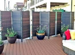 backyard privacy ideas screens outdoor screen patio tentent co balcony privacy screen uk