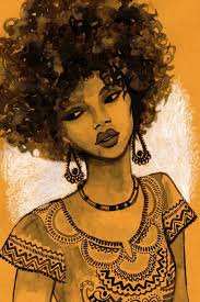 Image result for afro paintings