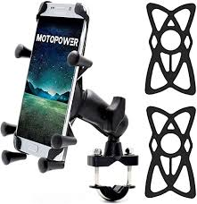 MOTOPOWER MP0619 <b>Bike Motorcycle</b> Cell Phone Mount Holder ...
